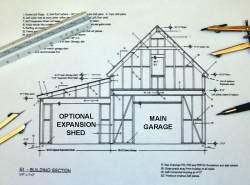 Expandable Small Garage Plan