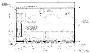 workshop plans 20x20 workshop home plan and house design ideas Wiring A Detached Garage wiring a detached garage wiring a detached garage