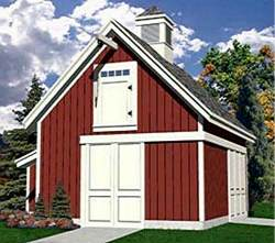 Detached garage plans package of 58 garage shop plans for A frame garage with loft