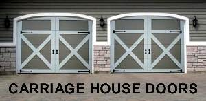 Wooden Garage Doors, Carriage House