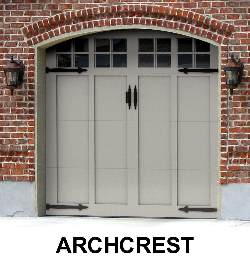 Martin Garage Door - ArchCrest