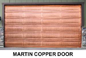 Martin Garage Door   Copper