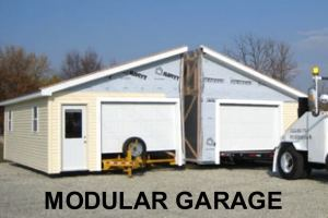 Modular Garage Kit Delivery