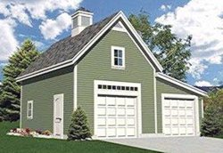 Gable Entry Garage With Loft Plans House Plans Home