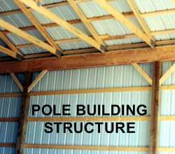 Metal Pole Building Structure