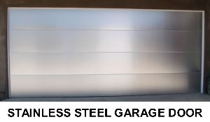 metal garage doors stainless steel
