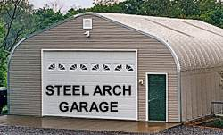 Steel Arch Buildings
