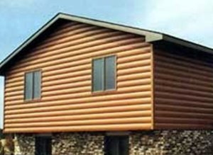 Steel Log Siding