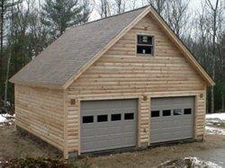 Log Garage