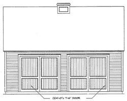 detached garage plan image