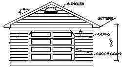 single car garage plans