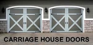 Wooden Garage Doors, Carriage House