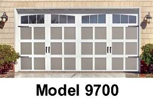 Wayne dalton garage doors quick comparison guide for Wayne dalton 9100 series
