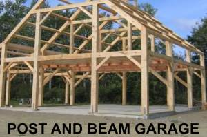 post and beam garage building kits